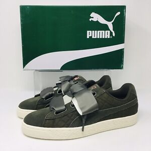 NEW* Puma Suede Heart Quilt (Women Size