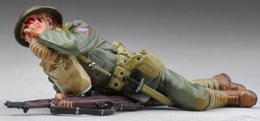 Thomas Gunn WW1 Amerikanische GW030B U.S.82nd All American Division Schuss Im