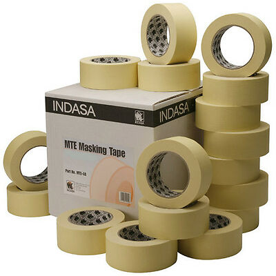 32 Rollen 30mm Indasa MTE 80°C Abdeckband Malerkrepp Abdeckband Klebeband