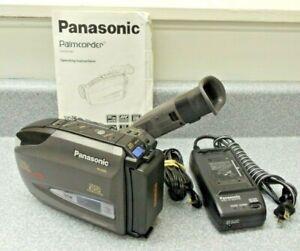 Panasonic Pv D209d Vhs C Camcorder 26x 150x Digital W Battery Charger Dc Manual 37988975990 Ebay