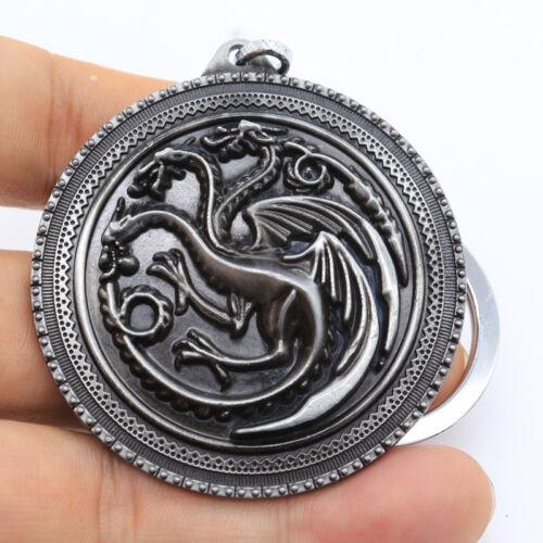 Game of Thrones Targaryen Dynasty Dragon Schlüsselanhänger Fire Schlüsselkette