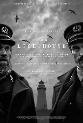 The Lighthouse Movie Poster Horror B 2019