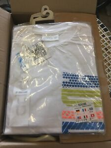 t shirt ADIDAS VINTAGE NEUF Taille L maillot ACTION FLUO