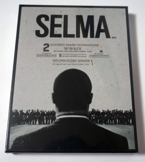 Selma (Blu-Ray) Completo Slip Scanavo caso/Región/Edición Limitada un