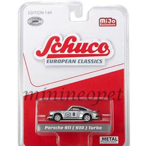 SCHUCO-8800-EUROPEAN-CLASSICS-PORSCHE-911-930-1-64-MARTINI-RACING-8-SILVER
