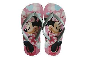 Tongs Enfant Fille Disney Minnie Rose et Bleu du 26 au 32