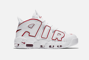 Nike Air More Uptempo 96 WHITE RED 2021 921948-102 Size 8 - 13 BRAND NEW