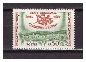 S24407) Dealer Stock France 1960 MNH Etat Gen.Europa 1v (X10 Sets)