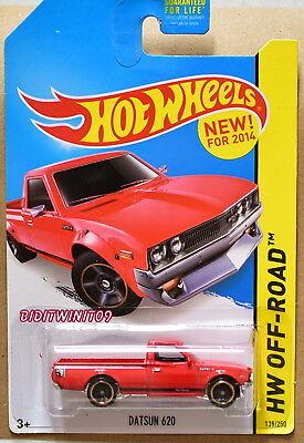 2018 Hot Wheels #09 HW Hot Trucks Datsun 620
