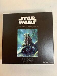 Fine Art Collection Yoda Buffalo Games Star Wars 1000 Piece Jigsaw Puzzle