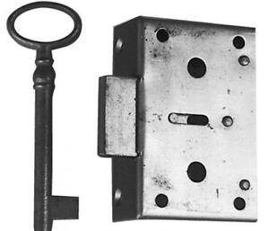 Möbel Kastenschloß 50 mm Dorn