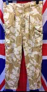 Genuine-British-Army-Surplus-Combat-Trousers-Desert-DDP-in-Various-Sizes-VGC