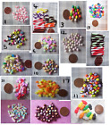 MINIATURE FOOD  candy sweets DOLL FOOD 1 packet  POLYMER CLAY  6TH SCALE