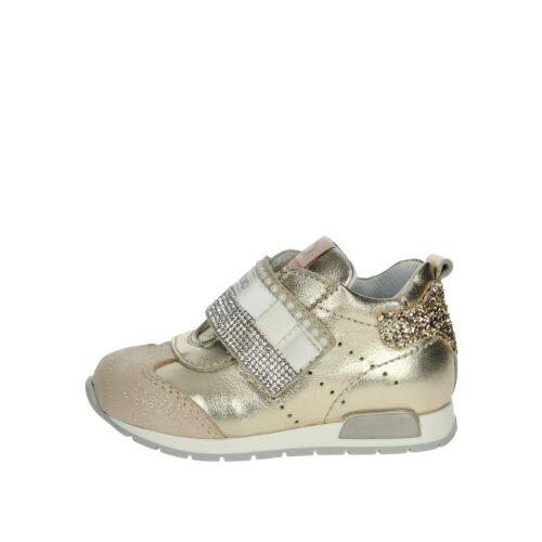 Sneakers bassa Bambina Balducci Pelle//camoscio Platino CSPORT3853
