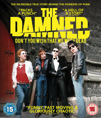 The Damned: Don't You Wish That We Were Dead DVD (2017) Wes Orshoski ***NEW***