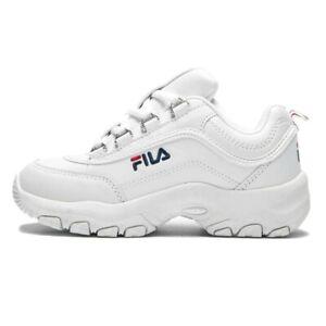 Scarpe-Bambini-FILA-Sneaker-Bianca-Strada-Low-Kids-Scuola-Palestra-Tempo-Libero