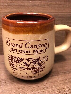 Vintage Grand Canyon National Park Arizona Desert Coffee Mug Ebay