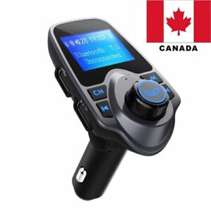 Wireless-Bluetooth-FM-Transmitter-Radio-Car-Kit-MP3-Music-Player-USB-Charger-CA