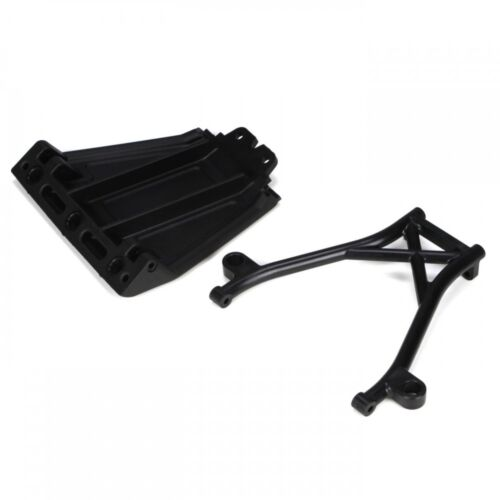 5IVE LOSB2574 Losi Front Skid Plate Bumper Brace /& Spacers