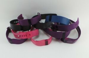 Lot of 10 FITBIT Charge HR All sizes AS IS READ Different Colors