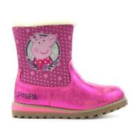 Peppa Pig Girls Rosalia Boots, Pink, Sizes Infant UK 5,6,7,8,9 and 10