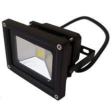 10W LED BRIGHT FLOOD LIGHT IP65 SPOT LIGHTING BLACK LOW POWER USAGE