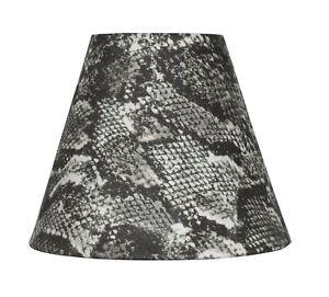 Urbanest Snakeskin Fabric Mini Chandelier Lamp Shade