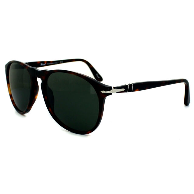 fa999cadb8a Original Persol PO 9649s 24 31 Havana Frame Smoke Lens Sunglasses 55 ...