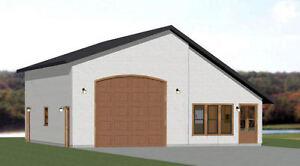 Details About 34x42 1 Rv Garage 1 Bedr Apartment 1 400 Sq Ft Pdf Floor Plan Model 2g