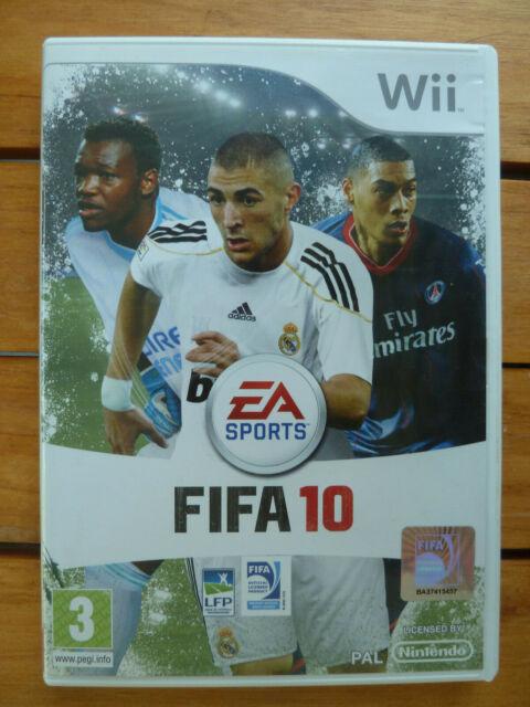 Jeu Nintendo Wii  - FIFA 10 Français