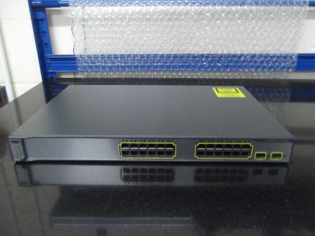 Cisco Catalyseur 3750 Series Ws-C3750-24ts-E 24 Ports L3 Interrupteur Ccna Ccnp