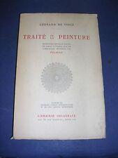 Léonard de Vinci Traité de la peinture Péladan Librairie Delagrave 1940
