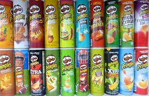 Pringles-Loud-Super-Stack-Potato-Crisps-Chips-Pick-One-Can