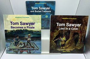 Lot ADVENTURES OF TOM SAWYER Cave, Treasure, Pirate MARK TWAIN'S  I. M. Richards