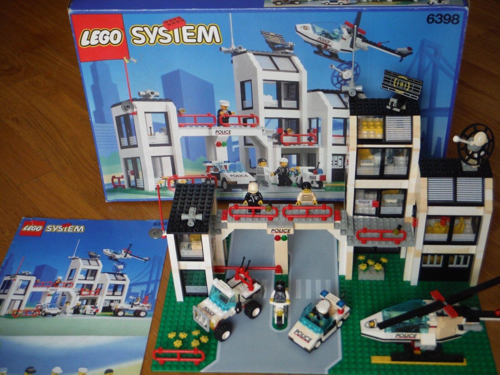 SET LEGO 6398 STAZIONE POLICE - COMPLETO 100% - RARITA' ANNO 1994
