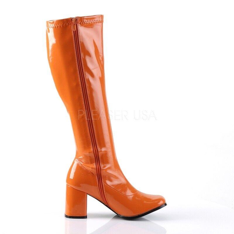 Funtasma Stiefel GOGO-300 GOGO-300 GOGO-300 Orange Lack 7341d1