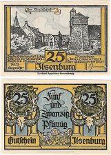 Germany 25 Pfennig 1921 Ilsenburg Notgeld UNC Uncirculated Banknote