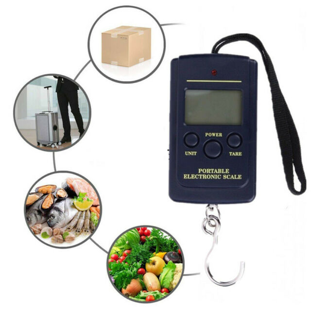 portable 50kg 10g electronic hanging fishing luggage pocket digital weight·scale
