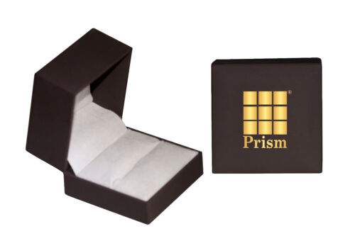 Prism Jewel 0.22ct Round Black Diamond With Diamond Solitaire with Accents Ring