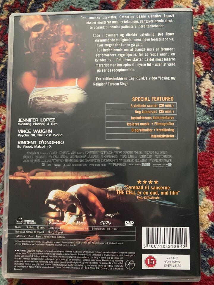 The Cell, instruktør Tarsem Singh, DVD