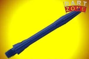 NEW-SET-of-3-INDIVIDUAL-SHORT-35mm-2ba-BLUE-ALUMINIUM-STEMS-S0053