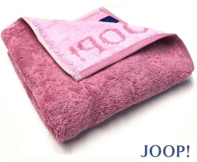 JOOP  1600 CLASSIC DOUBLEFACE FROTTIER  DUSCHTUCH BADETUCH 20 MAGNOLIE | Fein Verarbeitet