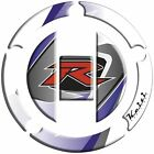Keiti - RSZ-611W - Gas Cap Protector/Suzuki, White/Blue