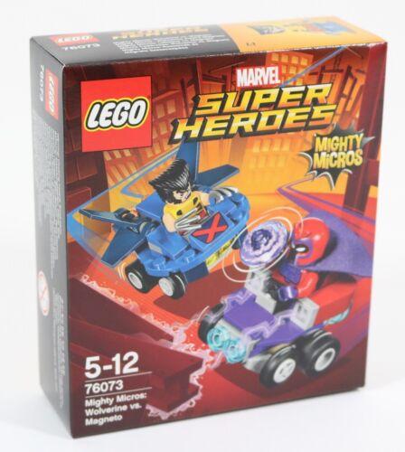 NEW LEGO X-MEN WOLVERINE VS MAGNETO SET 76073 MARVEL SUPERHEROES GO-KART