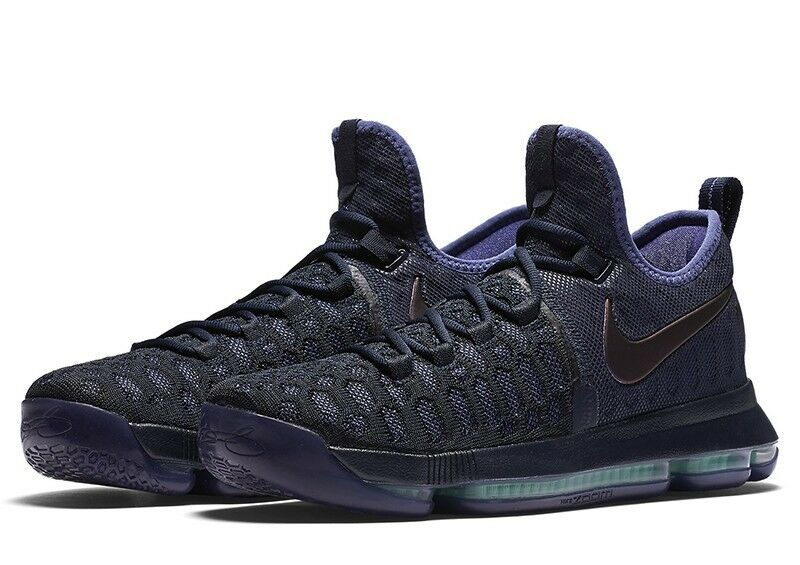 2016 Nike Zoom KD 9 Dark Purple Dust SZ 9.5 Obsidian Dark Purple Dust 843392-450