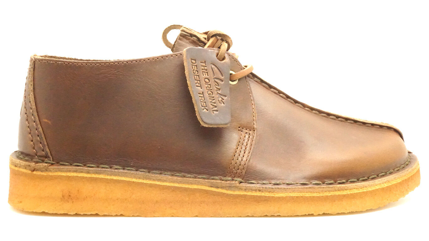 [DESERT TREK-10029] CLARKS PREMIUM CREPE hommes Chaussures CLARKSBRONZE LEATHERM