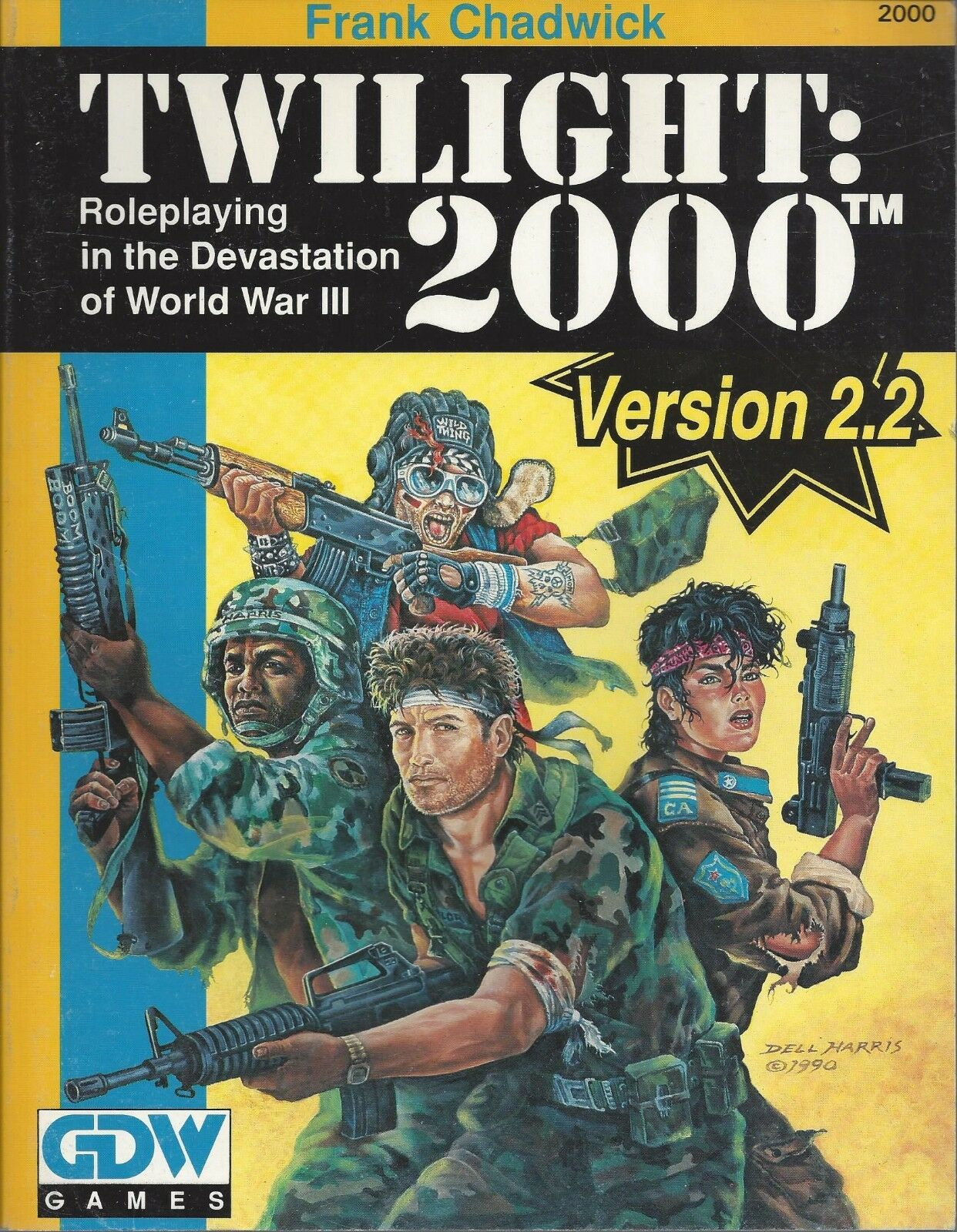 Twilight 2000  RPG SC Version 2.2  NEW  OOP   FREE Priority Mail  GDW Games