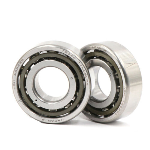 Matched Set of Two NSK 7210A5TRDULP4Y Abec-7 Super Precision Spindle Bearings.