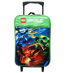 Lego Ninjago Rolling Luggage New Ebay