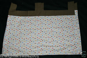 New Sumersault Tiny Trips Tab Top Window Valance